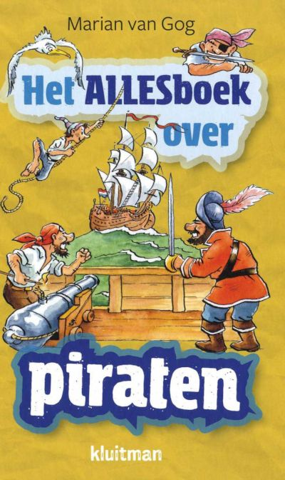 9789020618211 - Het Alles boek over - Piraten