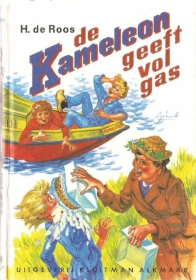 9789020642476 - De Kameleon geeft vol gas