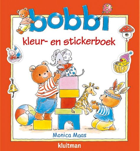 9789020684940 - Bobbi - Bobbi kleur- en stickerboek